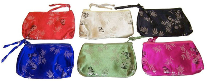 Studio Direct Small Panda Bear Cosmetic Bags